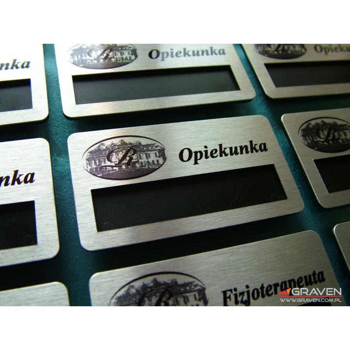 IDENTYFIKATOR METALOWY IOM-004 (38 x 70mm)
