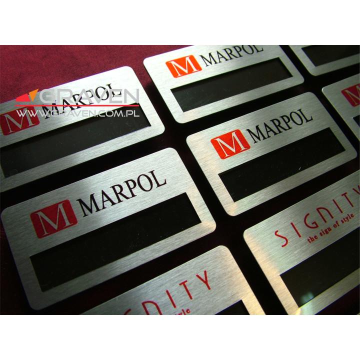 IDENTYFIKATOR METALOWY IOM-003 (38 x 70mm)