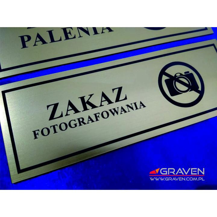 TABLICZKA NA DRZWI T-021 (70 x 200mm)