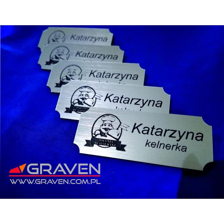 IDENTYFIKATOR IMIENNY GRAWEROWANY - AGRAFKA