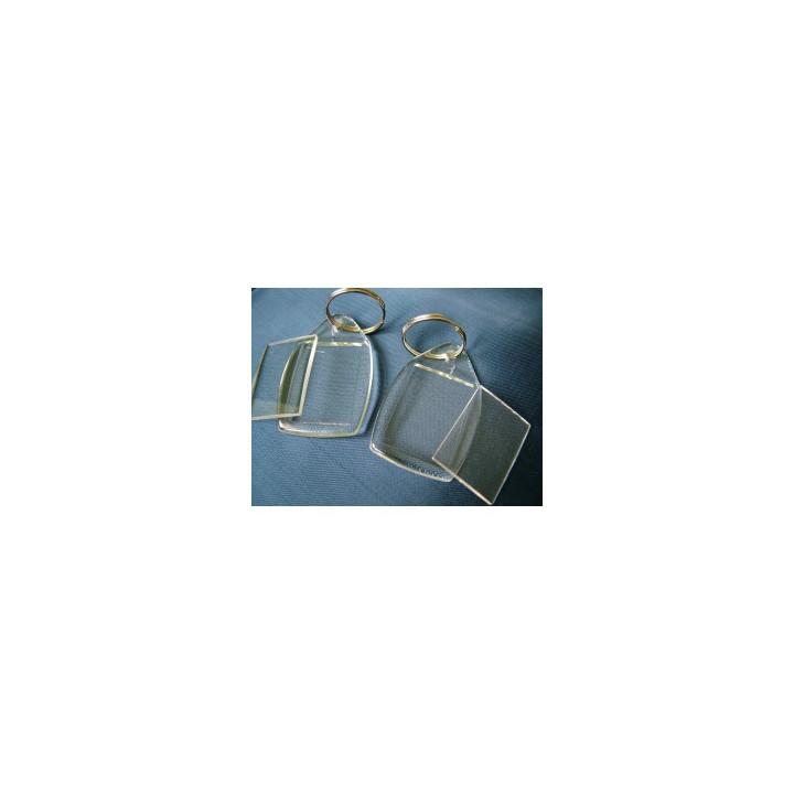 Brelok z akrylu - Prostokąt mały